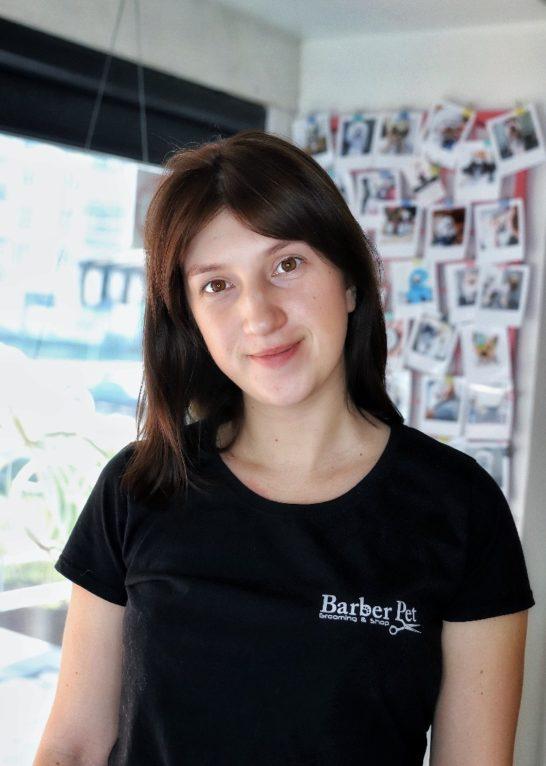 Аня Керуючий в Barber Pet