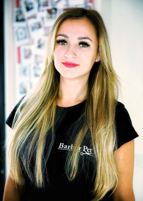 Алина Топ-грумер в Barber Pet
