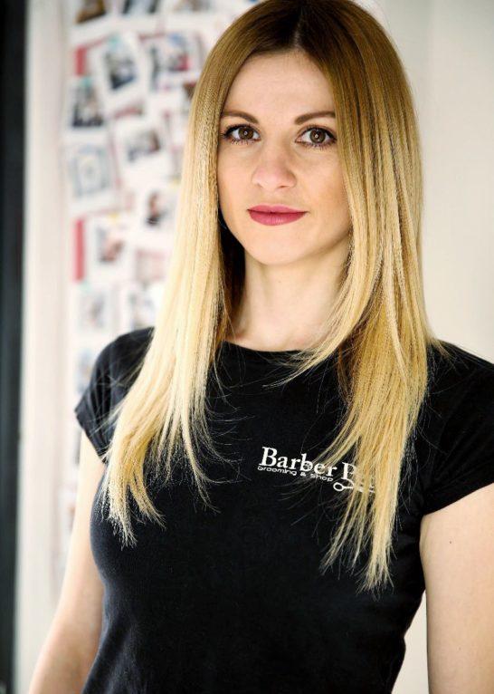 Оксана Грумер в Barber Pet